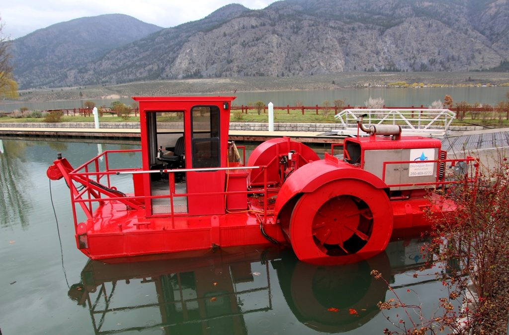 Water board resumes some milfoil rototilling