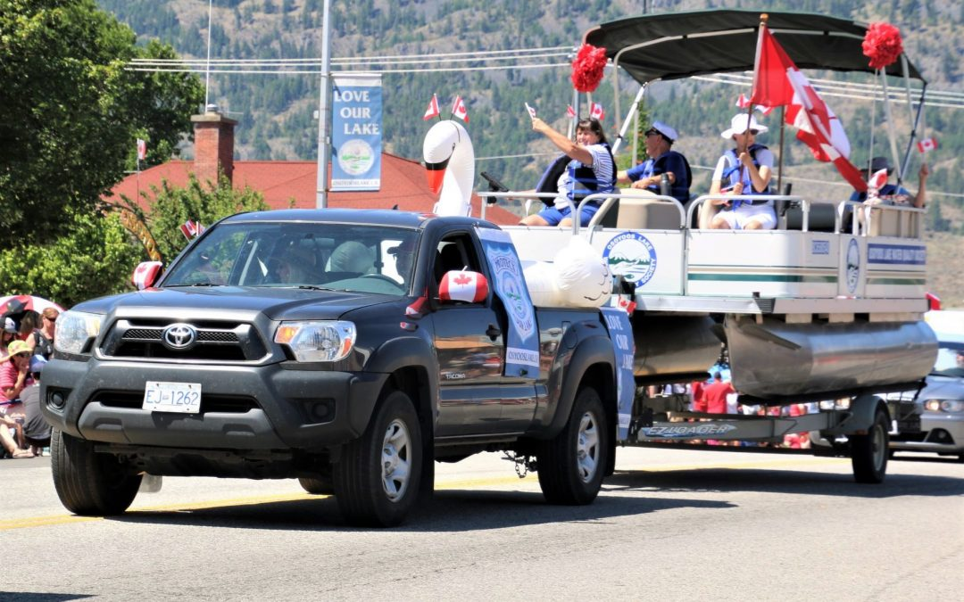OLWQS unveils 'new' research boat at Cherry Fiesta parade
