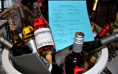 Wines are popular at fundraiser