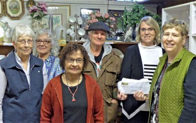 Osoyoos' United Church Dorcas Unit donates to OLWQS