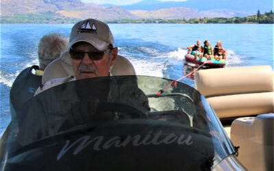 Did you know that slow-speed boating makes the largest wakes?