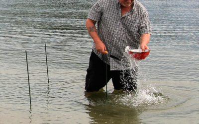 No Invasive Clams found at Legion Beach